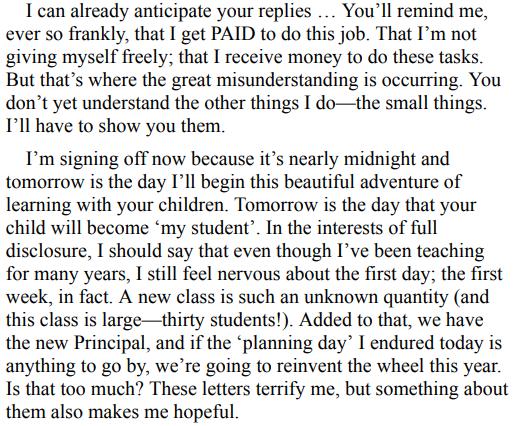 Dear Parents by Gabbie Stroud
