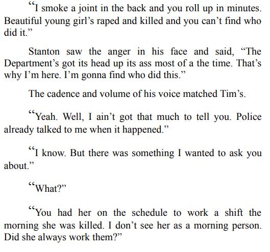 White Angel Murder by Victor Methos