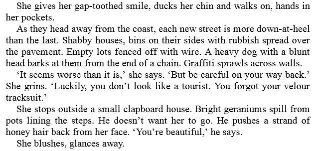 The Bench by Saskia Sarginson