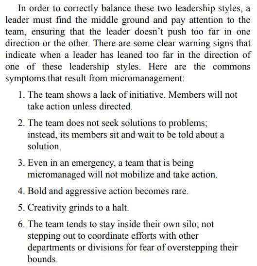 The Dichotomy of Leadership by Jocko Willink PDF