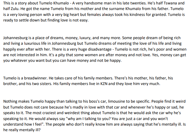 Behind Tumelo's Poverty EPUB