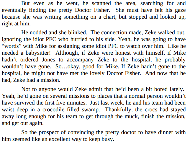 Zeke by Elizabeth Lennox PDF