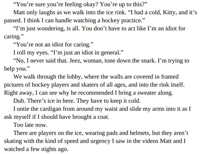 Kitty Valentine Dates a Hockey Player by Jillian Dodd PDF